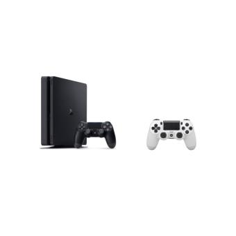 console sony ps4 slim 500 go manette ps4 dual shock 4. Black Bedroom Furniture Sets. Home Design Ideas
