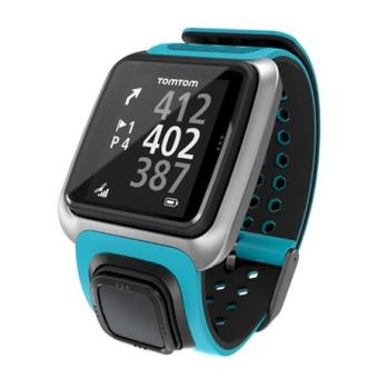 montre gps tomtom golfer turquoise montre multifonctions. Black Bedroom Furniture Sets. Home Design Ideas