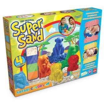 sable modeler goliath super sand safari colors kit cr atif acheter sur. Black Bedroom Furniture Sets. Home Design Ideas