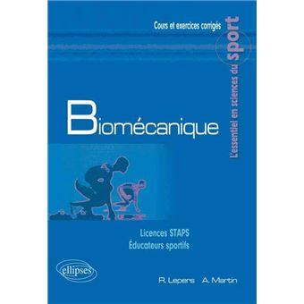 Exercice biomécanique staps l2
