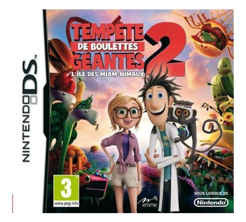 Tempête de Boulettes Géantes 2 DS - Nintendo DS