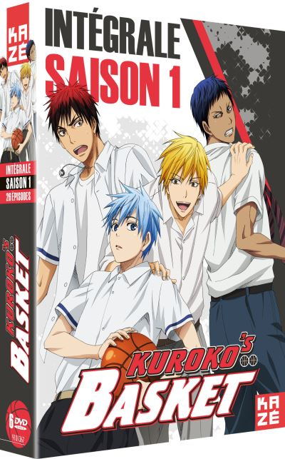 Kuroko´s basket Saison 1 DVD