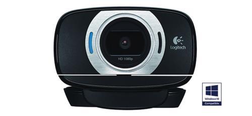 Capteur jusqu´à 8 Megapixel, microphone intégré, résolution vidéo 1920 x 1080 pixels, compatible PC Connexion sur port USB