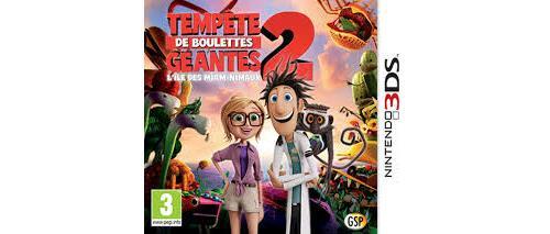 Tempête de Boulettes Géantes 2 3DS - Nintendo DS