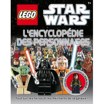 L go star wars l 39 encyclop die des personnages broch hannah dolan achat livre prix - Lego star wars personnage ...