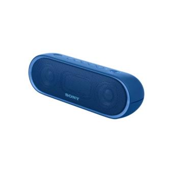enceinte portable bluetooth sony srsxb20 bleue mini. Black Bedroom Furniture Sets. Home Design Ideas