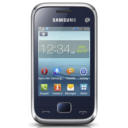 Smartphone quadri-bande, EDGE Rx, appareil photo 1,3 Megapixel, Bluetooth 3.0, lecteur MP3, vidéo, Radio FM RDS avec enregistreur - Mémoire partagée 20 Mo, emplacement pour carte microSD HC