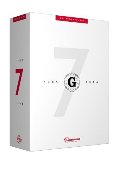 Coffret Collection 120 Ans Gaumont Volume 7 1985 1994 DVD