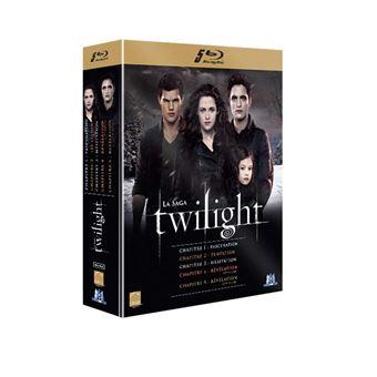 Twilight Twilight L'Intégrale Coffret 5 Films Blu Ray Coffret