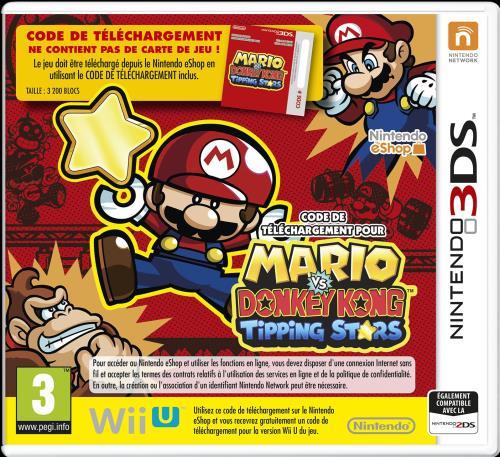 Mario vs. Donkey Kong Tipping Stars 3DS - Nintendo 3DS