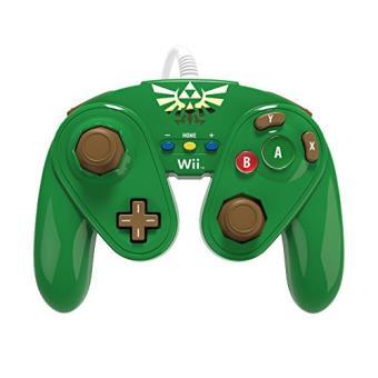 Manette nintendo fire pad link pour wii u accessoire - Comment connecter manette wii a la console ...