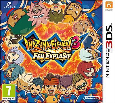 Inazuma Eleven 3 Feu Explosif 3DS - Nintendo 3DS