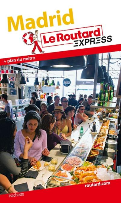 Image accompagnant le produit Le Routard Express Madrid