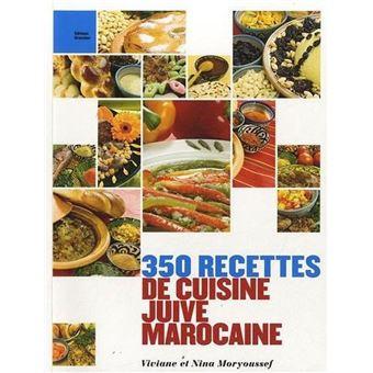 350 recettes de cuisine juive marocaine  Cuisine  Espace Judaisme