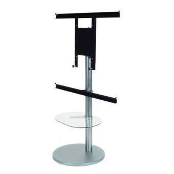 Support tv et barre de son norstone tiblen sb meuble for Support tv a poser sur meuble