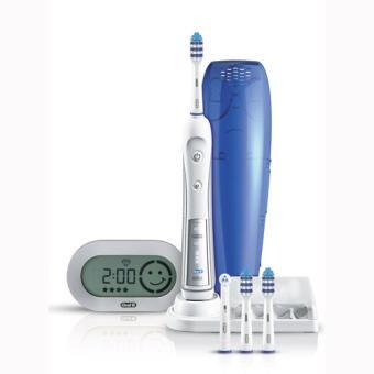 brosse dents lectrique oral b trizone 5500 avec 4. Black Bedroom Furniture Sets. Home Design Ideas