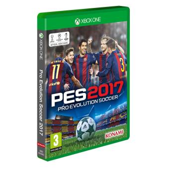 pes 2017 xbox one sur xbox one jeux vid o achat prix fnac. Black Bedroom Furniture Sets. Home Design Ideas
