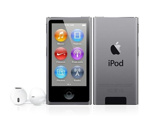 Apple iPod Nano 16 Go Space Gray 2.5