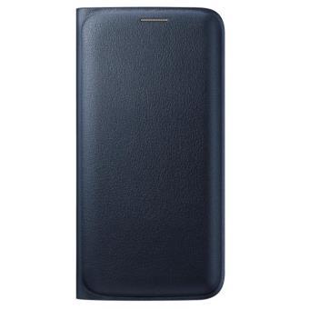 Etui Samsung Flip Wallet pour Galaxy S Edge Noir a w