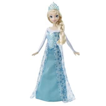 poupe elsa scintillante frozen la reine des neiges disney