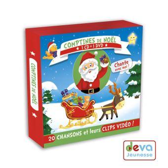 Comptines de Noël Inclus DVD bonus Enfant CD album Achat & prix