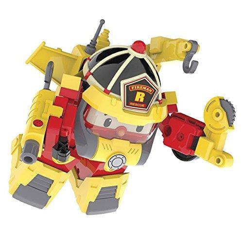 2 en 1, la figurine se transforme en véhicule et en robot ! Clipse les accessoires de super pompier sur la figurine Roy. Dès 3 ans.
