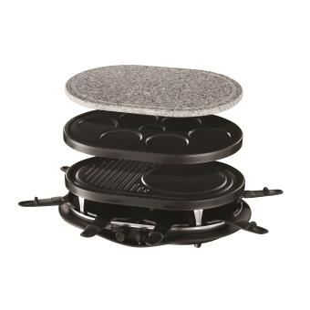 raclette russell hobbs le quatuor 21000 56 4 en 1 pour 8. Black Bedroom Furniture Sets. Home Design Ideas
