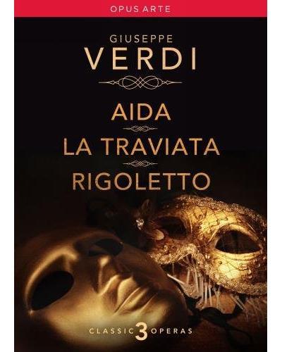 Aida - La Traviata - Rigoletto - 5 DVD