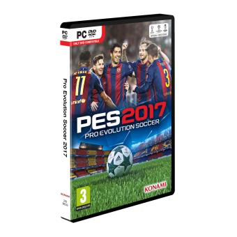 pes 2017 pc sur pc jeux vid o achat prix fnac. Black Bedroom Furniture Sets. Home Design Ideas