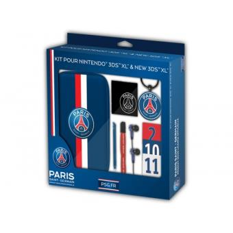 pack d 39 accessoires subsonic pour new 3ds xl edition paris saint germain accessoire console de. Black Bedroom Furniture Sets. Home Design Ideas
