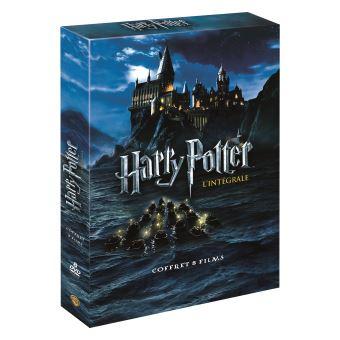 Harry Potter L'intégrale : Coffret des 8 Films DVD
