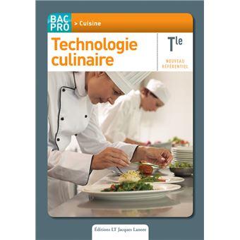 Technologie culinaire term bac pro cuisine pochette de l for Technologie cuisine bac pro
