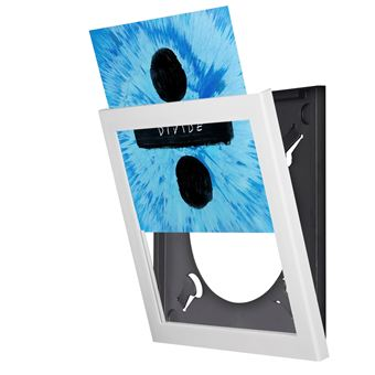 cadre blanc pour vinyle show and listen cadre objet d riv achat prix fnac. Black Bedroom Furniture Sets. Home Design Ideas