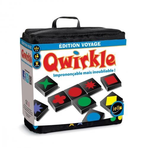 Retrouvez toute la finesse du jeu Qwirkle en format voyage ! Avec ses 108 tuiles en bois et ses règles rapides a comprendre, Qwirkle est devenu un classique des jeux familiaux. Le but : associer des tuiles de formes ou de couleurs identiques. Mais si les
