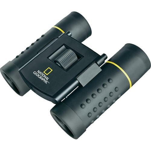 Jumelle National Geographic 8x21 Noir. Jumelle BK-7, Etanche, Réglages de doptrie, Raccord pour trépied.