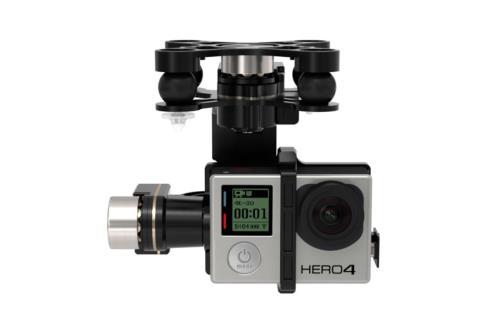 Nacelle DJI Zenmuse GoPro H4 Black-3D pour Phantom 2