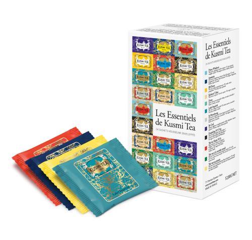 Image du produit Les Essentiels Kusmi Tea Étui de 24 sachets mousseline enveloppés