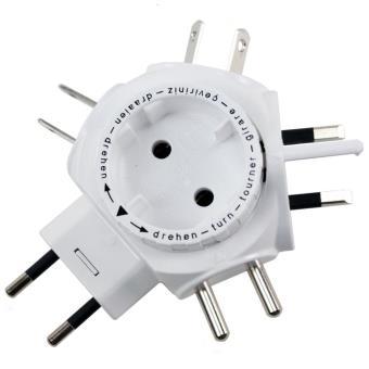 Adaptateur de prise lectrique go travel worldwide achat - Rampe de prises electriques ...