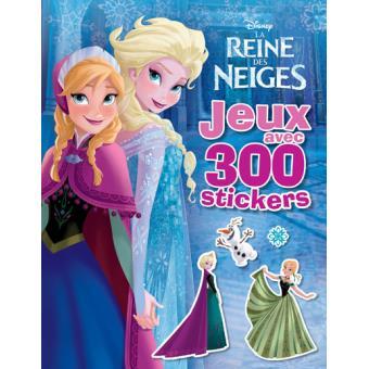 Frozen la reine des neiges elsa et anna 300 stickers - Anna reines des neiges ...