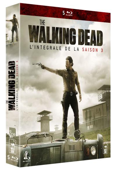 The Walking Dead - Coffret intégral de la Saison 3 - Blu-Ray