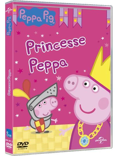 Saison 3, Volume 1 : Princesse Peppa - DVD