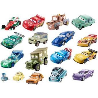 set de 2 voitures miniatures cars mattel voiture achat prix fnac. Black Bedroom Furniture Sets. Home Design Ideas