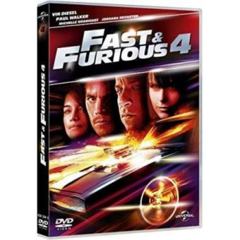 fast and furious fast furious 4 drafting 2015 dvd coffret dvd dvd zone 2 justin lin. Black Bedroom Furniture Sets. Home Design Ideas