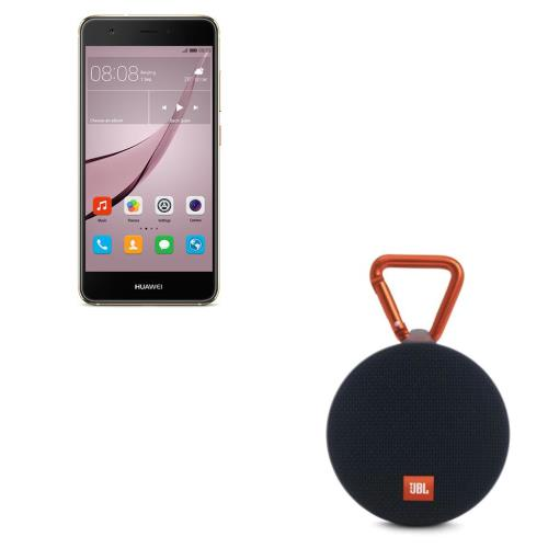Smartphone Huawei Nova 32 Go Double SIM Or + Enceinte Portable JBL Clip 2 Noir
