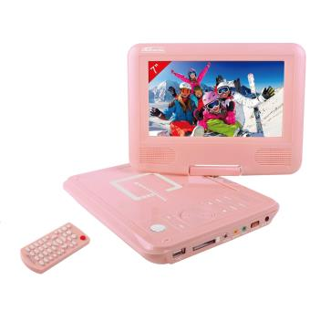 lecteur dvd portable takara vr132p rose cran rotatif 7 lecteur dvd portable achat prix. Black Bedroom Furniture Sets. Home Design Ideas