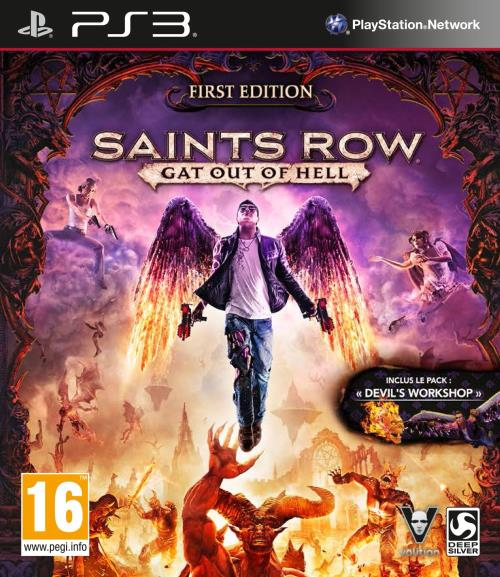 Saints Row Gat Out of Hell First Edition PS3 - PlayStation 3