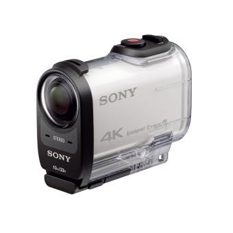 action cam sony fdr x1000vr 4k blanc cam scope carte m moire acheter sur. Black Bedroom Furniture Sets. Home Design Ideas