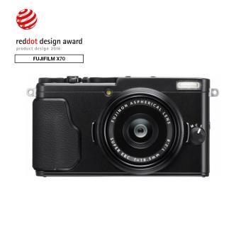compact fujifilm x70 noir appareil photo num rique. Black Bedroom Furniture Sets. Home Design Ideas