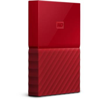 Disque dur externe WD My Passport 1 To Rouge