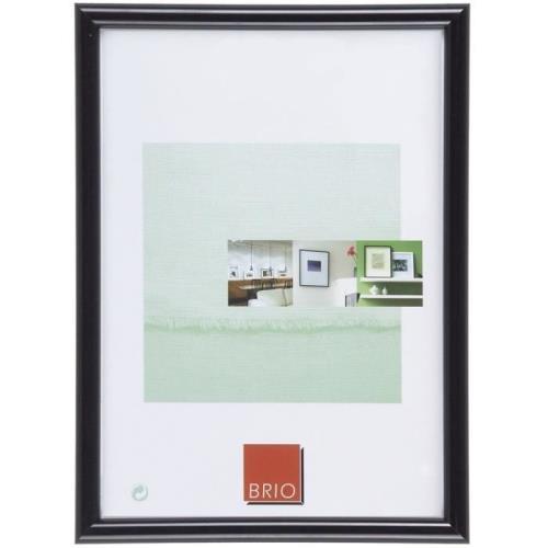 Cadre photo bois Brio Gallery 13x18 cm noir